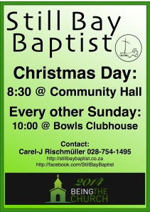 Church Poster - Dec 2014
