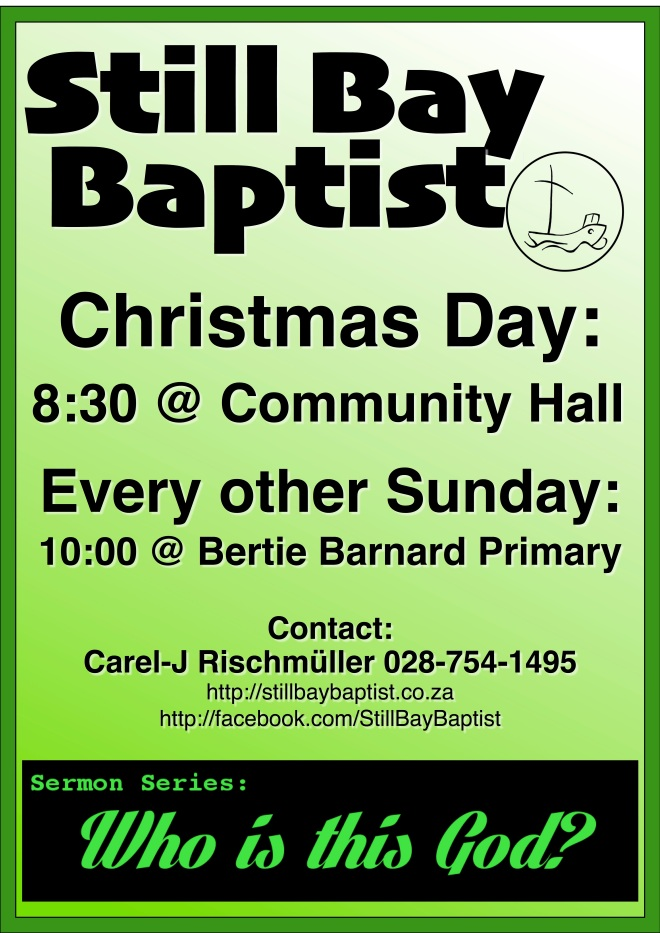 Church Poster - Dec 2015