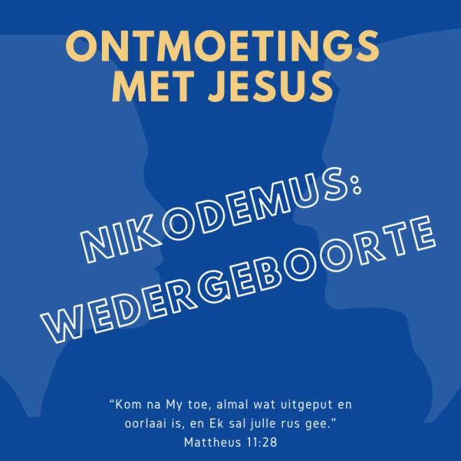 Ontmoetings met Jesus -Voorblad